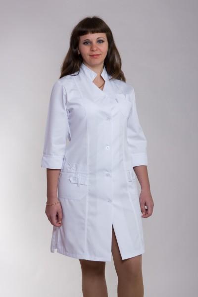 Медицинский халат-модель-3102
