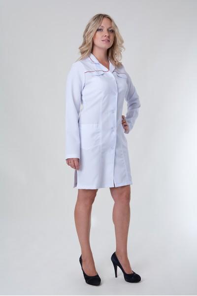 Медицинский халат - модель - 1122