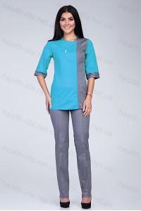 Медицинский костюм-модель-2250 (ткань-х/б/размер 40-60)