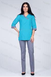 Медицинский хирургический костюм-модель-2269 (ткань-х/б/размер 42-60)