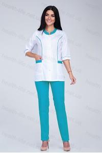 Медицинский костюм-модель-2277  (ткань-х/б/размер 40-66)