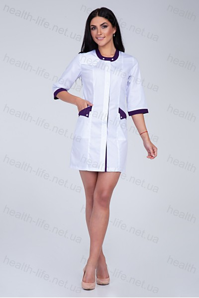 Медицинский халат-модель-2106