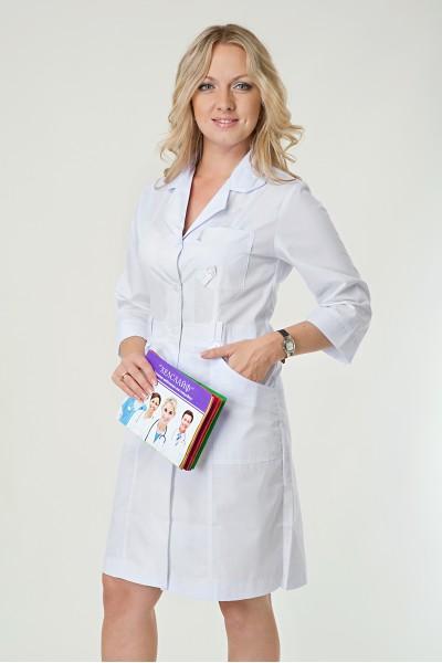 Медицинский халат-модель-2135