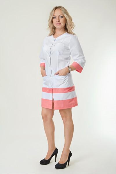 Медицинский халат-модель-2139