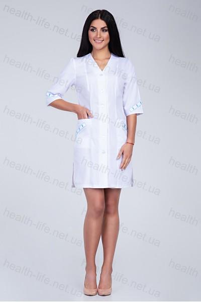 Медицинский халат-модель-2158