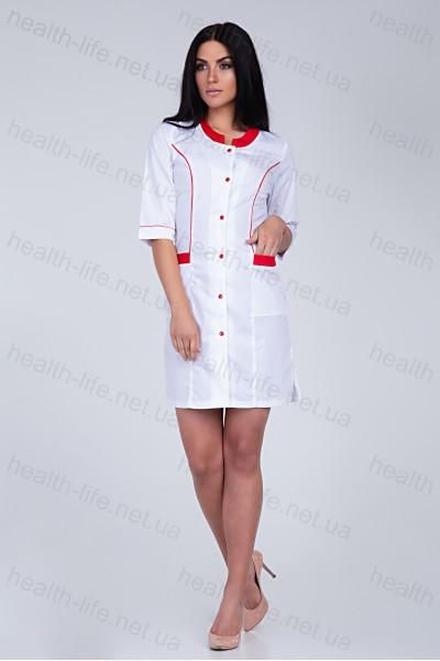 Медицинский халат-модель-2166