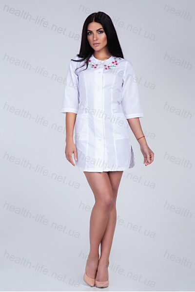 Медицинский халат-модель-2176