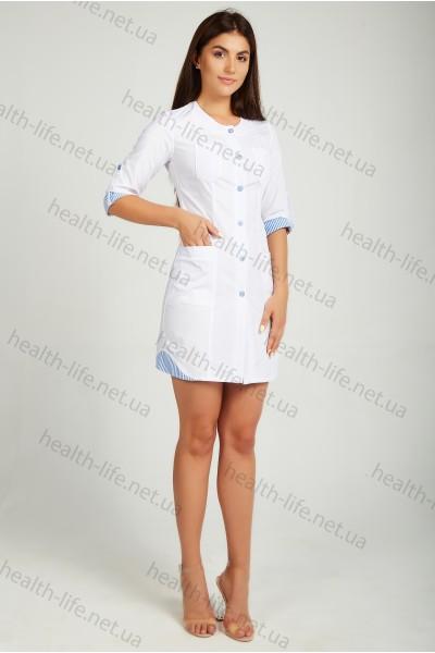 Медицинский халат-модель-21102