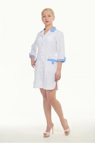 Медицинский халат-модель-1104