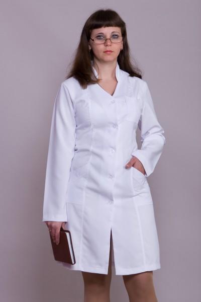 Медицинский халат-модель-1106