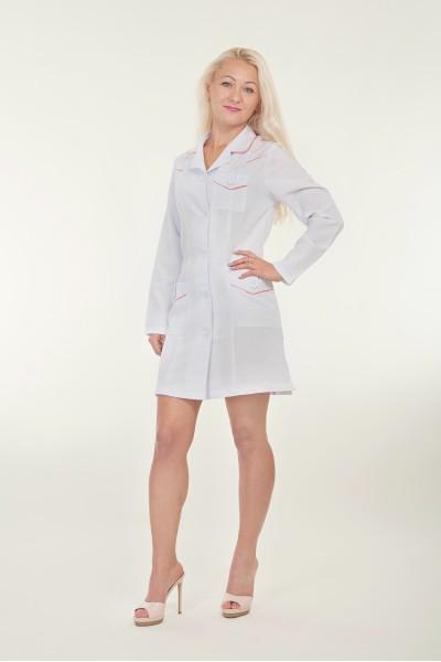 Медицинский халат-модель-1129