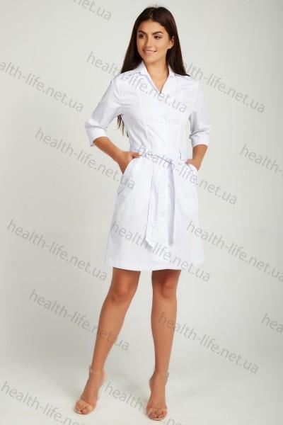 Медицинский халат-модель-3109