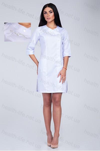 Медицинский халат-модель-3129