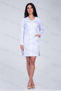 Медицинский халат-модель-3132 (ткань-коттон/белый/размер 40-56)