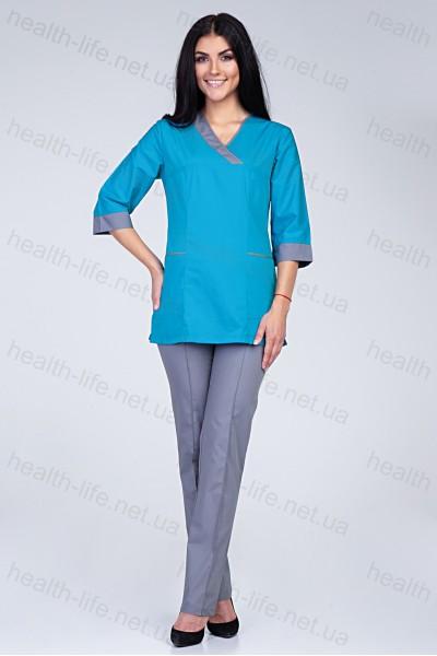 Медицинский хирургический костюм-модель-2270
