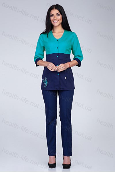 Медицинский костюм-модель-3235