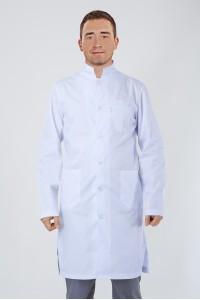Медицинский халат-модель-3121 (ткань-коттон/белый/размер 40-54)