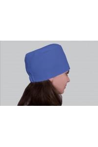 Медицинский головной убор, модель 2307 - (ткань-х/б/синий/размер 58-62)