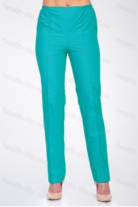 Медицинские штаны-модель-2603 (ткань-х/б/мятный/размер 42-66)