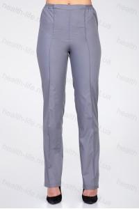 Медицинские штаны-модель-3603 (ткань-коттон/серый/размер 42-66)