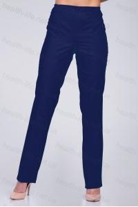 Медицинские брюки-модель-2607 (ткань-х/б/темно-синий/размер 42-66)